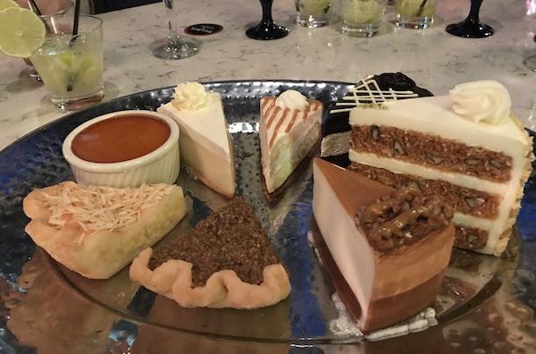 Desserts at Texas de Brazil