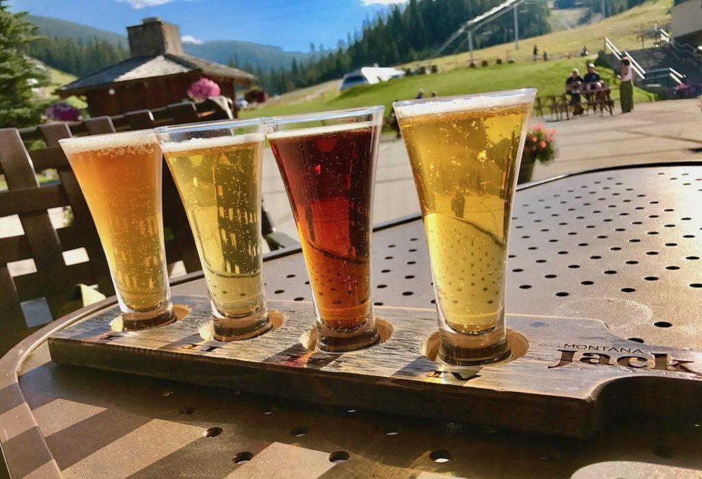 Huge Local Beer Selection at Montana Jack's at Big Sky Resort
