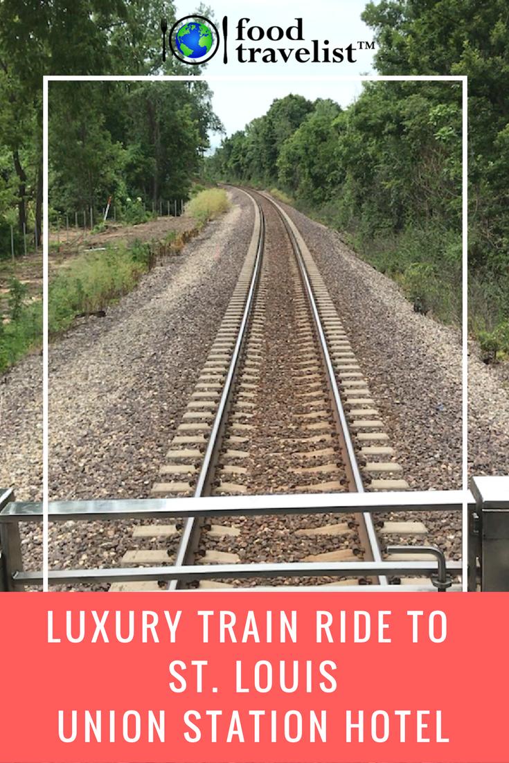 Luxury Train Ride To St. Louis Union