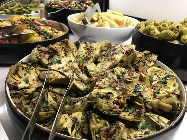 Salads galore at Texas de Brazil