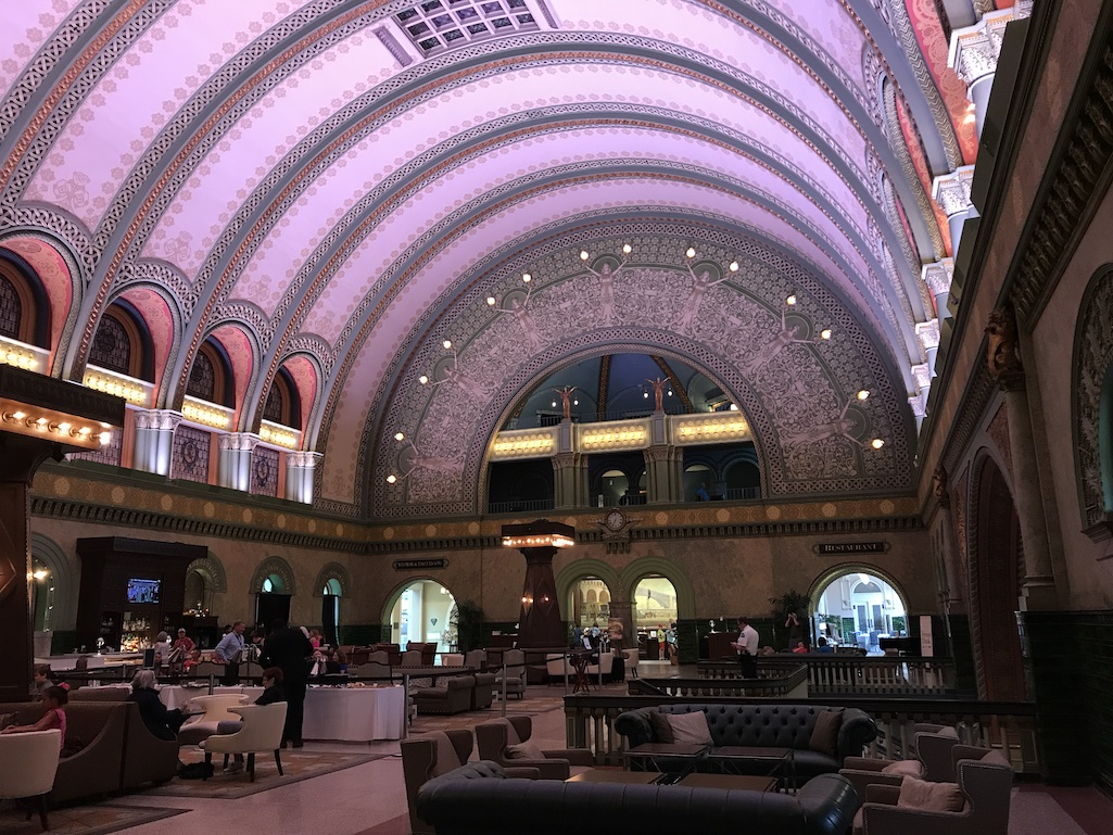 The Grand Hall at the Union Station Hotel St. Louis