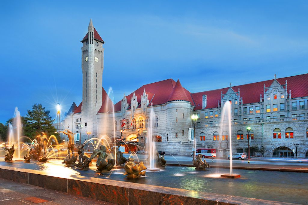 The grand Union Station Hotel