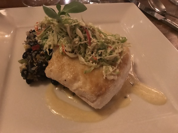 Wild Alaskan Halibut Chico Hot Springs