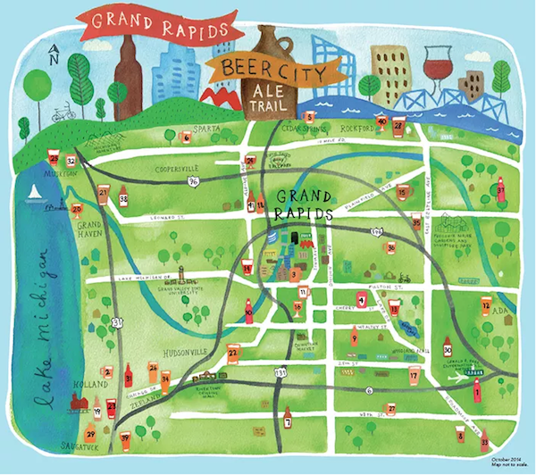 Beer City Ale Trail Grand Rapids