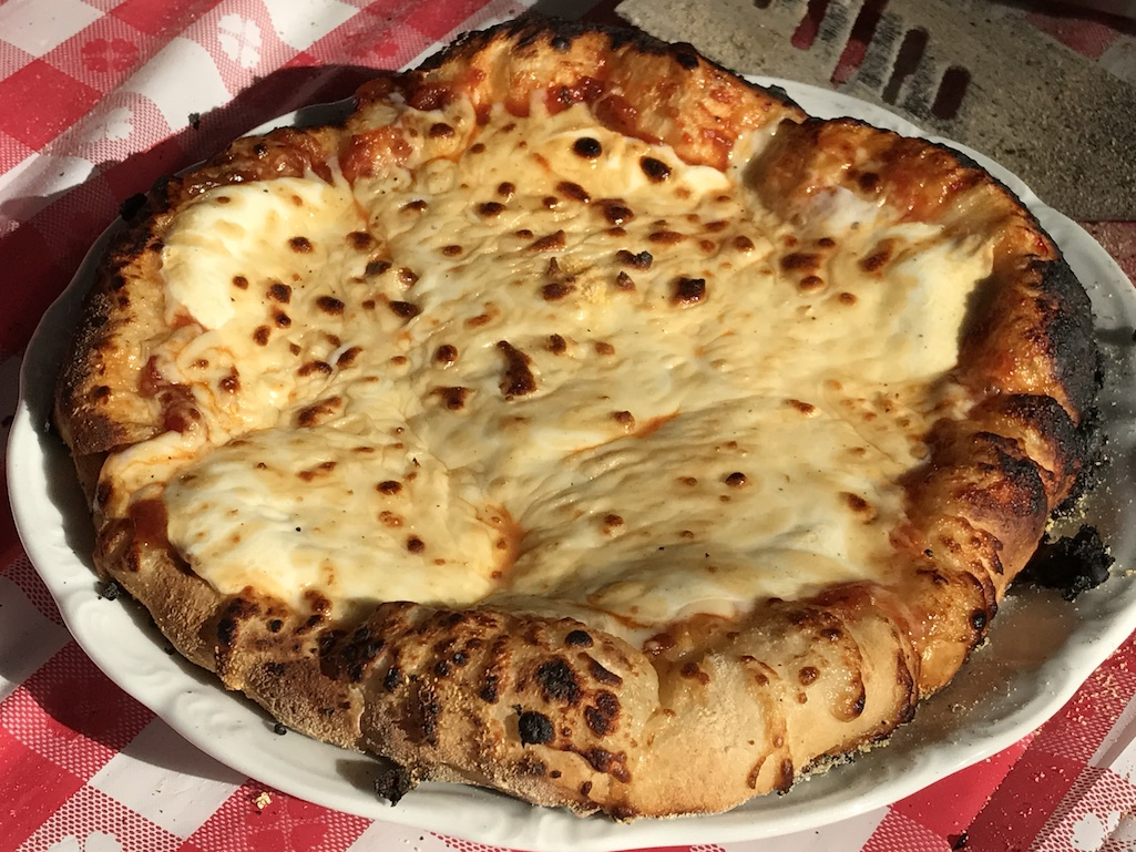 Cheese Pizza Pizzeria Pronto Oven