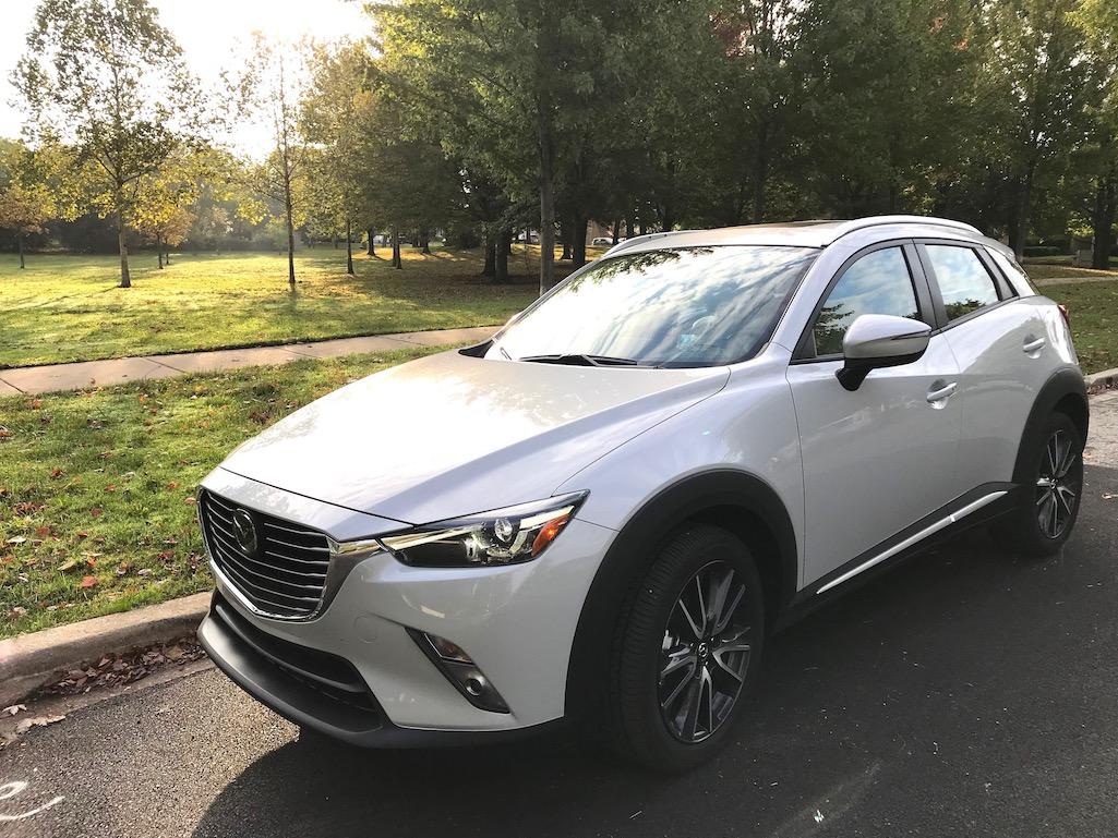 Mazda CX3 in Park