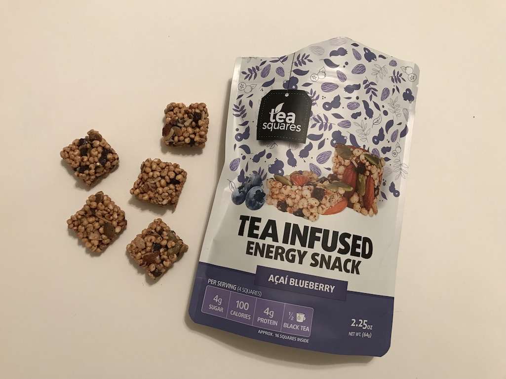 Tea Squares Tea infused energy snack