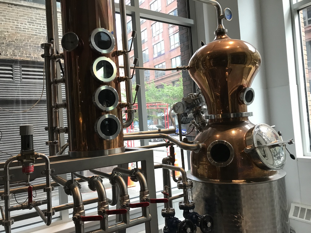 Behind the scenes at CH Distillery