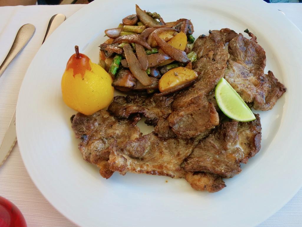Black Pork at Nau dos Corvos Portugal