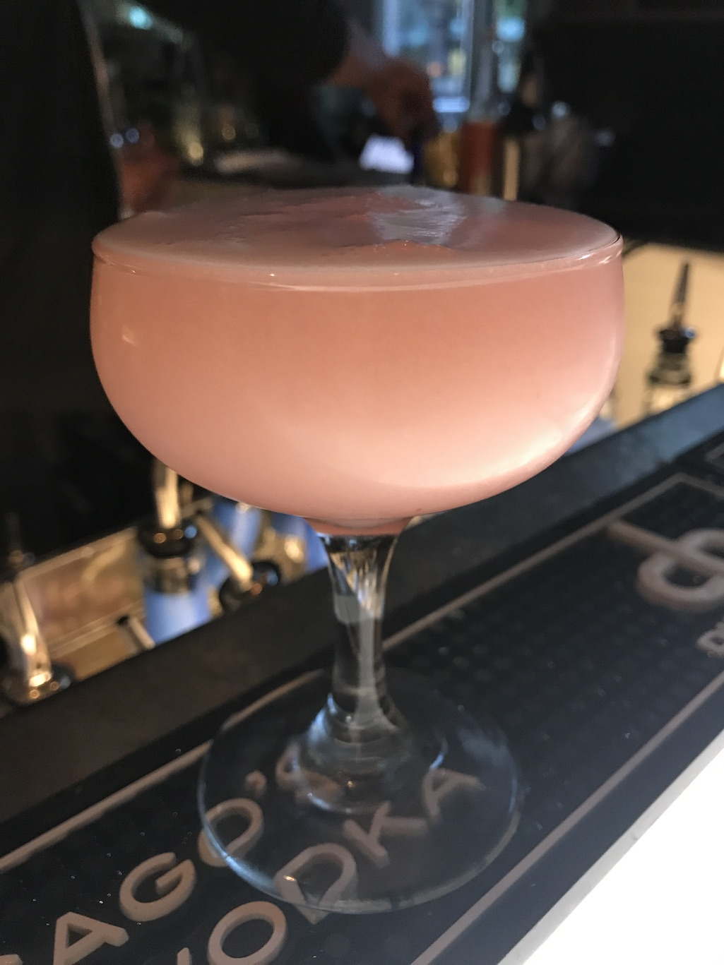 Clover CLub Cocktail at CH Distillery