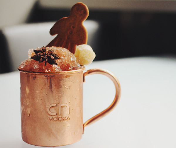 Gingerbread Mule at CH Distillery