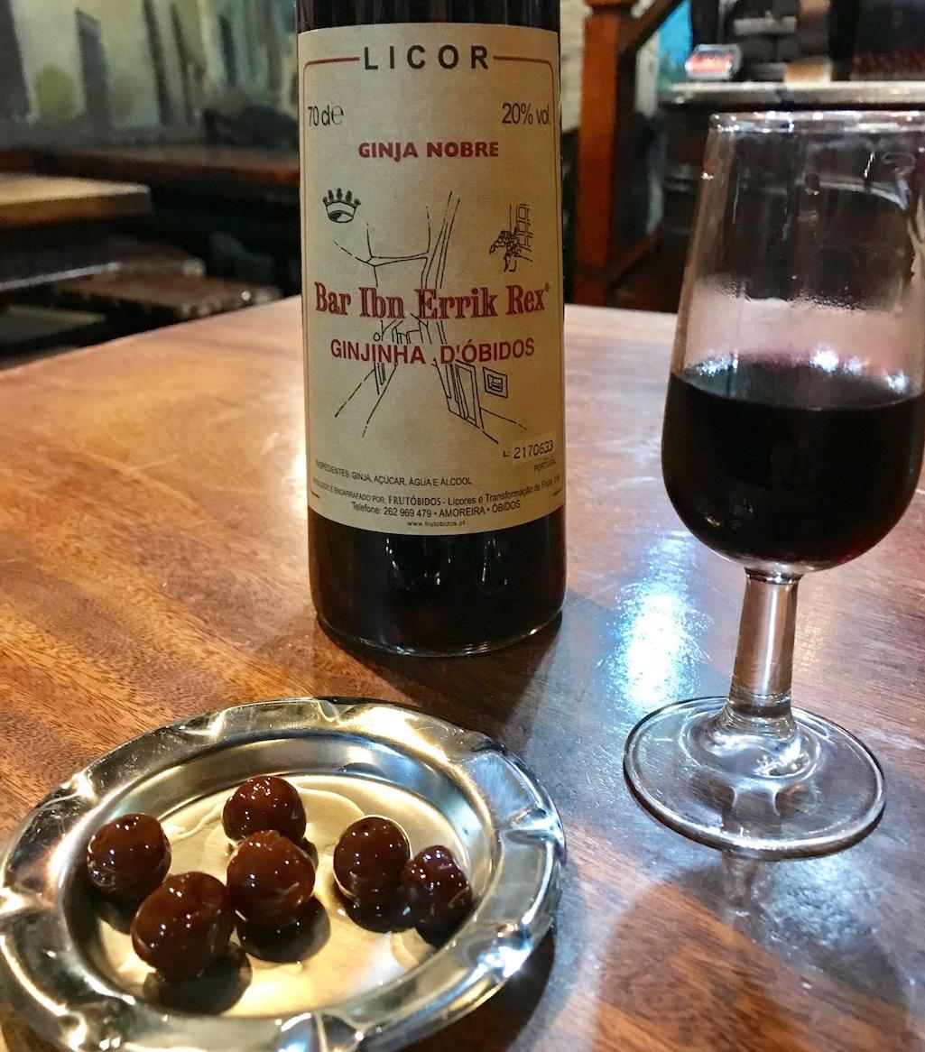 Ginja Cherry Brandy Obidos Portugal