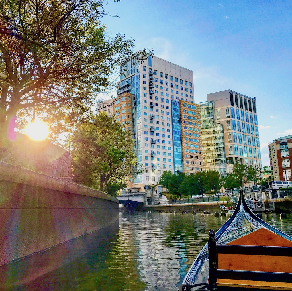 Gondola Ride in Providence Rhode Island