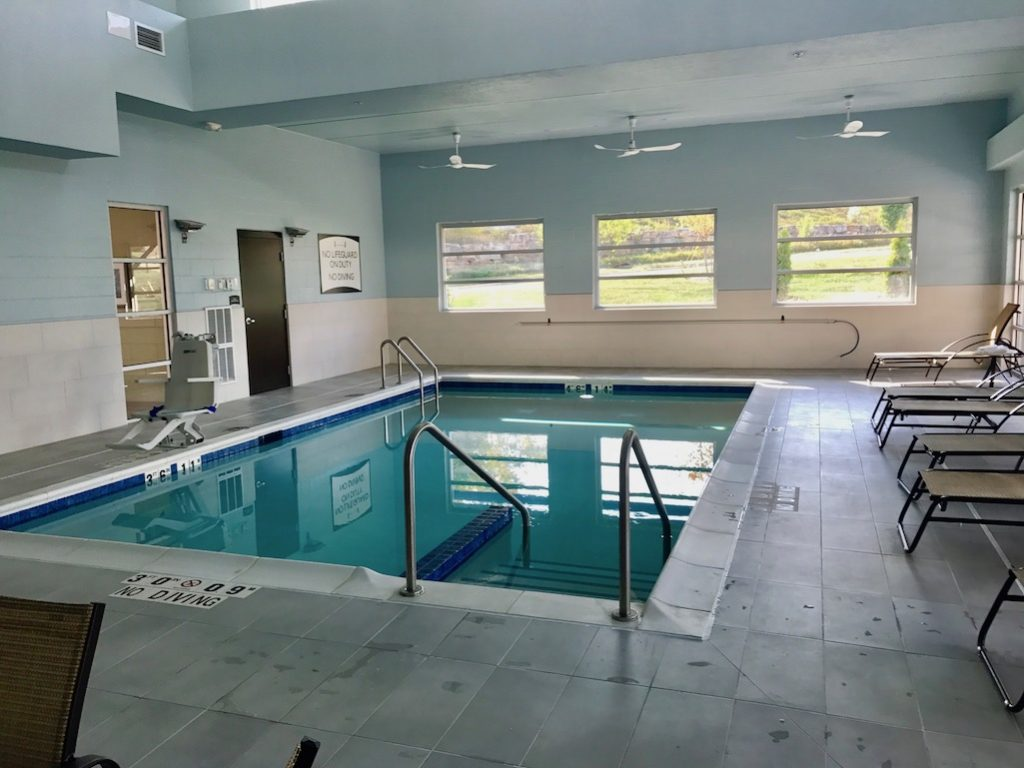 Indoor Pool at the Staybridge Suites Madison