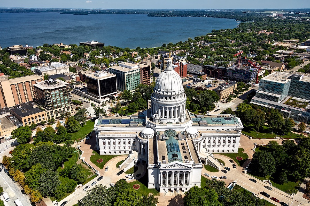 Madison WI Overview Of City