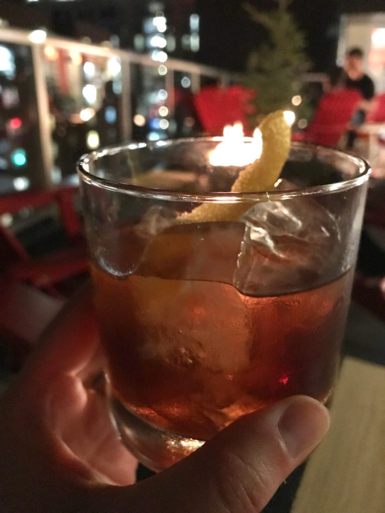 Old Fashioned at the Graduate Madison WI