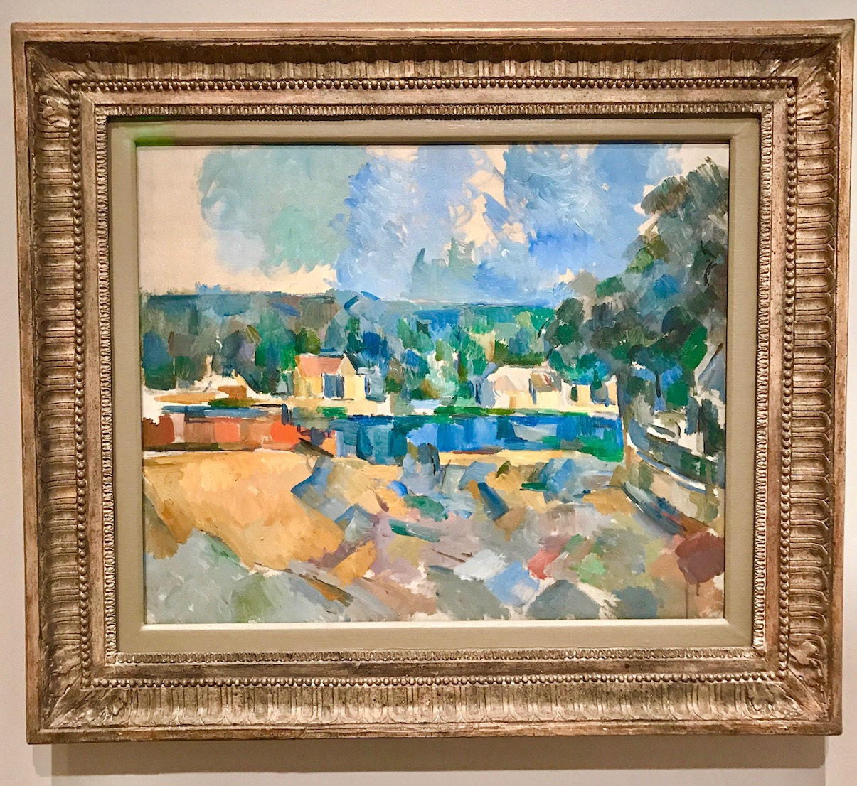 Paul Cezanne at the RISD in Providence RI