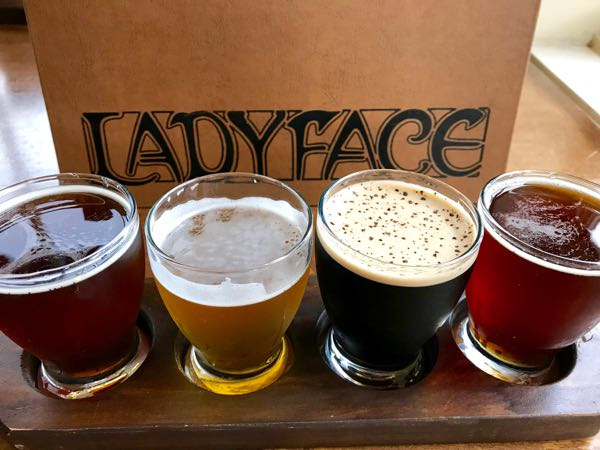 Craft beer at Ladyface Conejo Valley California