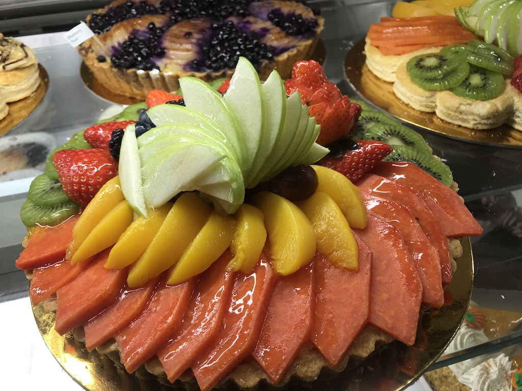 Fresh bakery items at Kings Hawaiian in Torrance, California