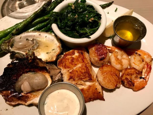 Seafood platter Lure Fish House Conejo Valley California