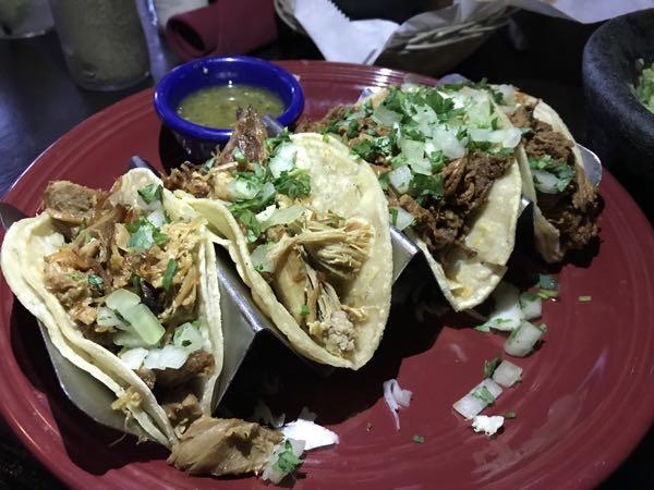 Tacos at Ciscos Mexican Restaraunt Conejo Valley CA