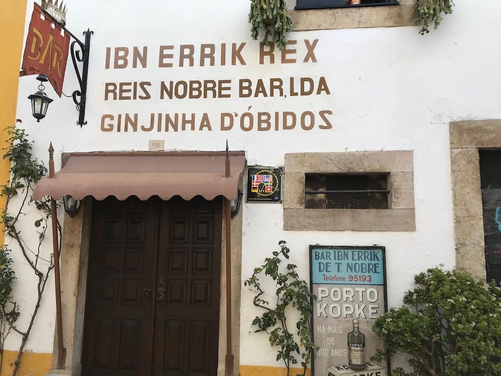 Bar Ibn Errick Rex Obidos Portugal