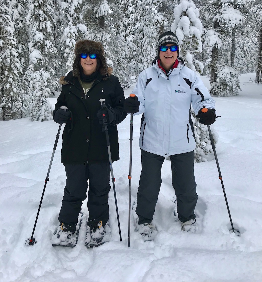 Snowshoeing in West Yellowstone