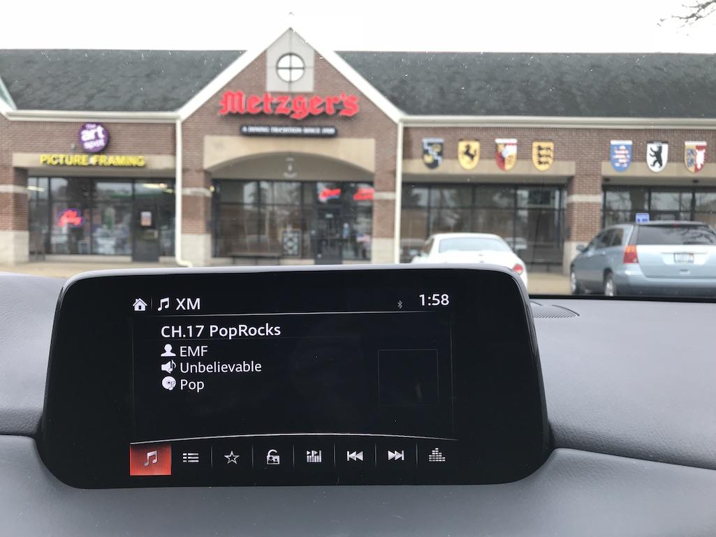 Dashboard Mazda CX5 Metzgers