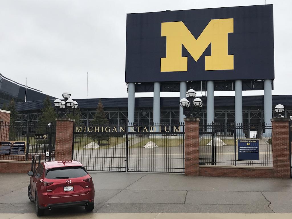 The Big House Michigan Ann Arbor