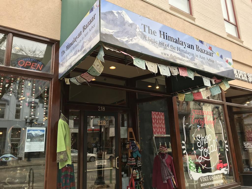 The Himalayan Bazaar in Ann Arbor