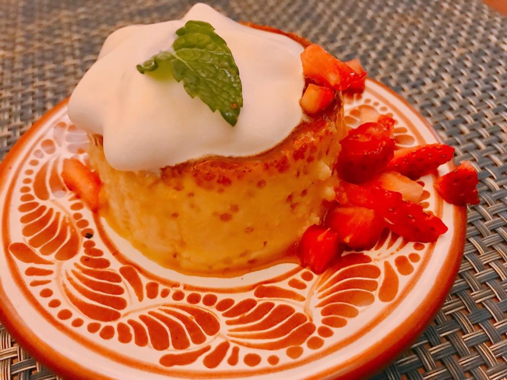 Dessert at Tenangos Los Cabo