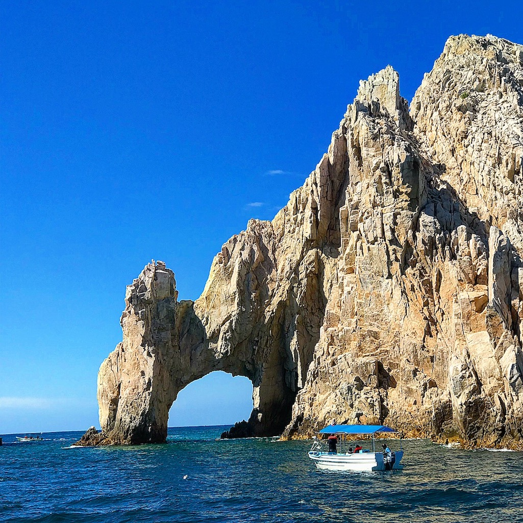 The iconic El Arco in Los Cabos Mexico