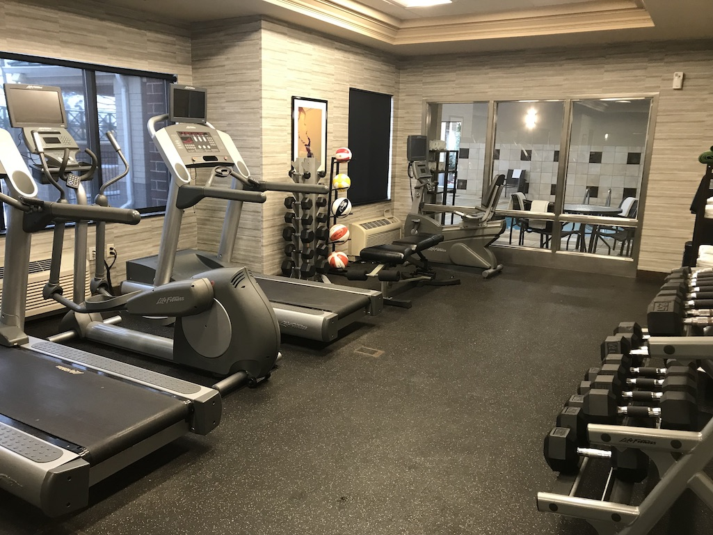 Gym at the Courtyard Roseville Minnesota
