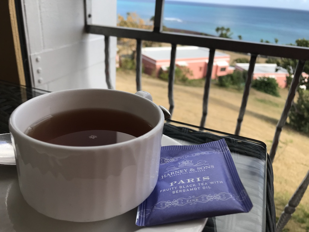 Harney & Sons Tea at the Buccaneer in St. Croix