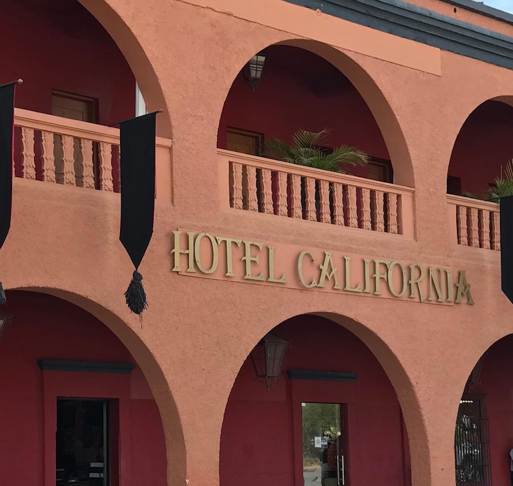 Hotel California Todos Santos Mexico