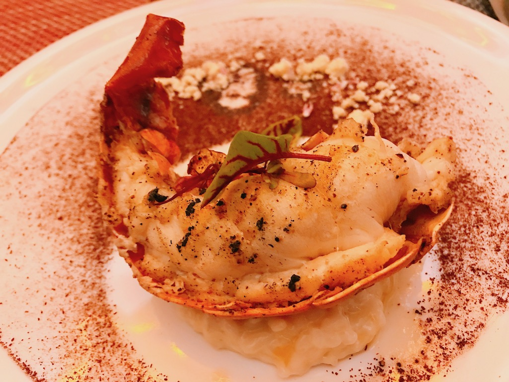 Outstanding Destinations Lobster Dish at Tenangos Restaurant Los Cabos