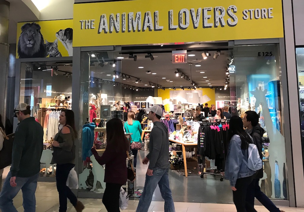 Mall of America The Animal Lovers Store