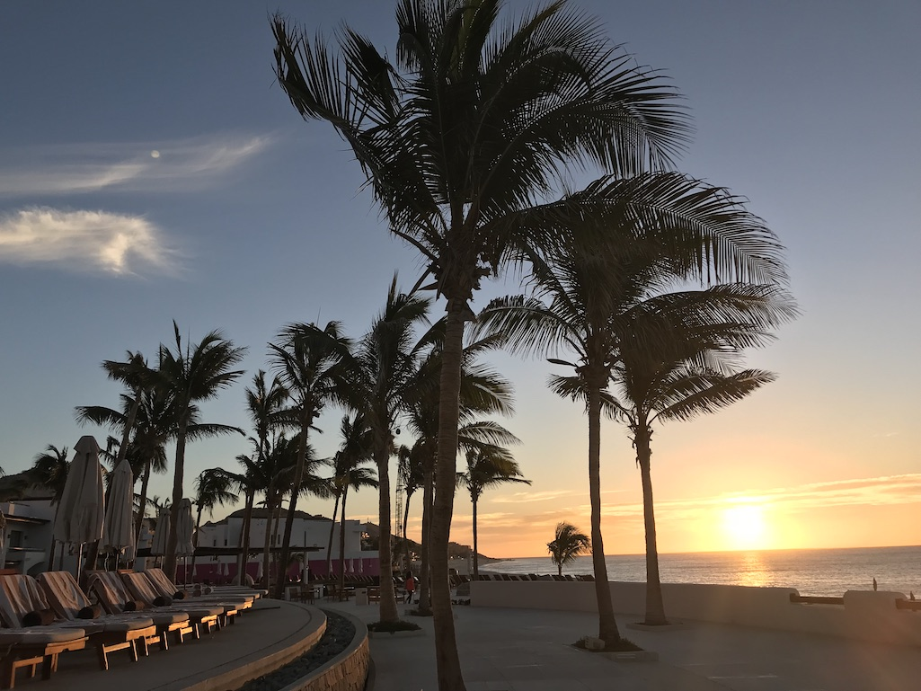 Sunrise at the Marquis Los Cabos Mexico