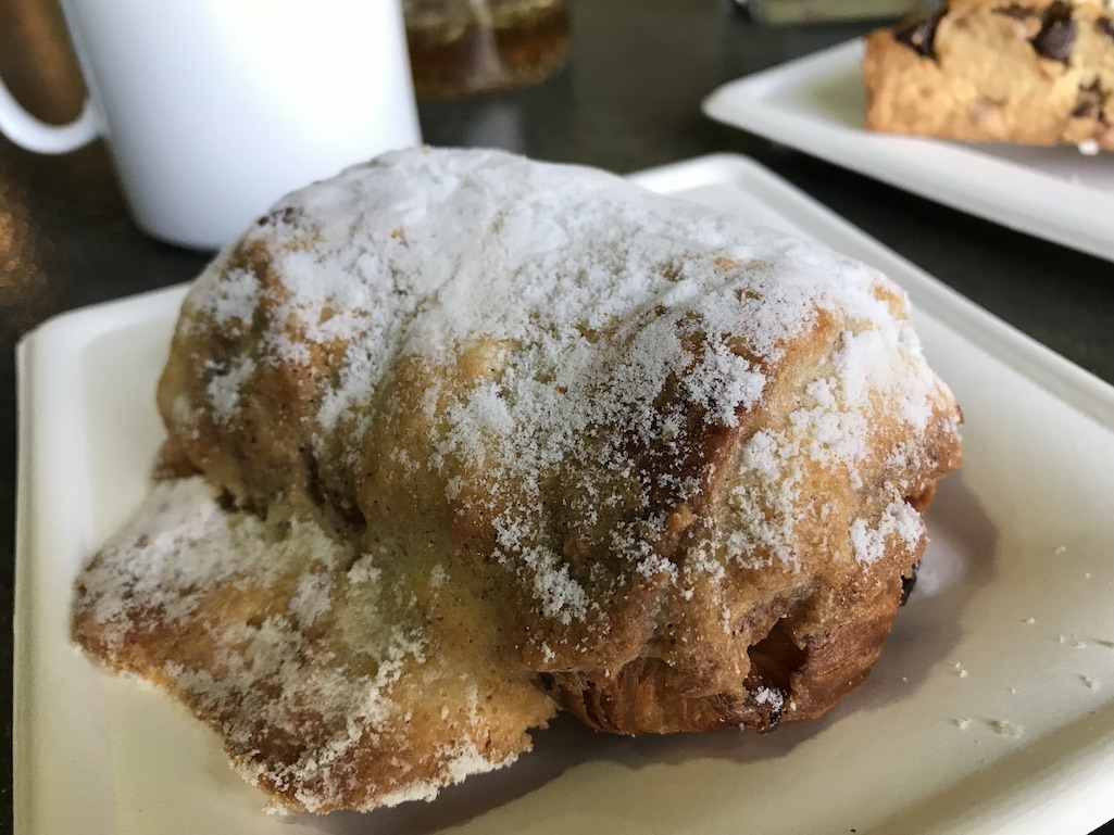 Almond Chocolate Croissant at The Grateful Table in Roseville, Mn