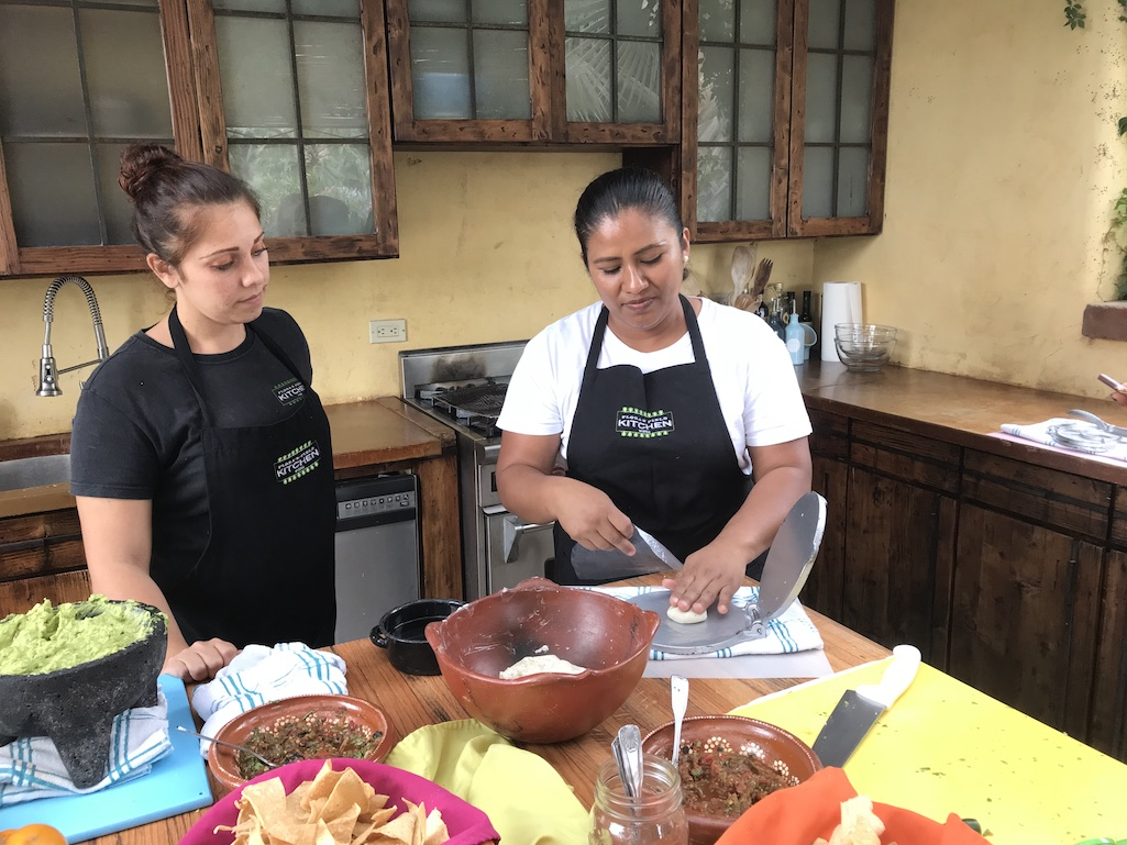 Tortilla Making at Floras Farms Los Cabos