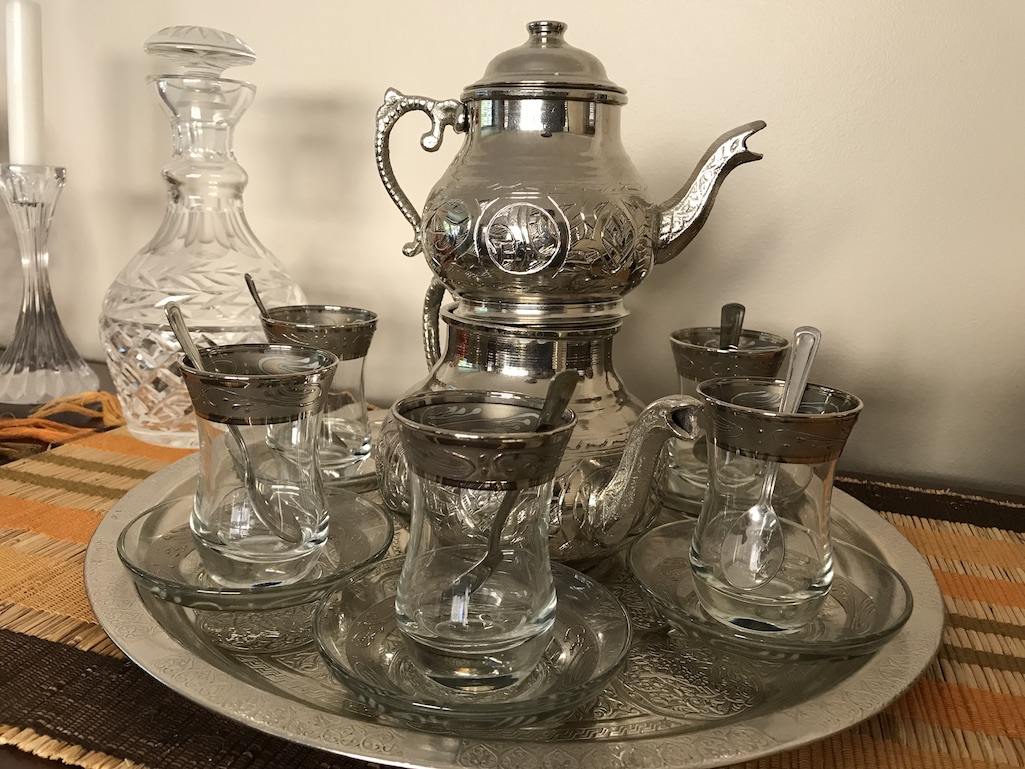 urkish Tea Set from Grand Bazaar Istanbul