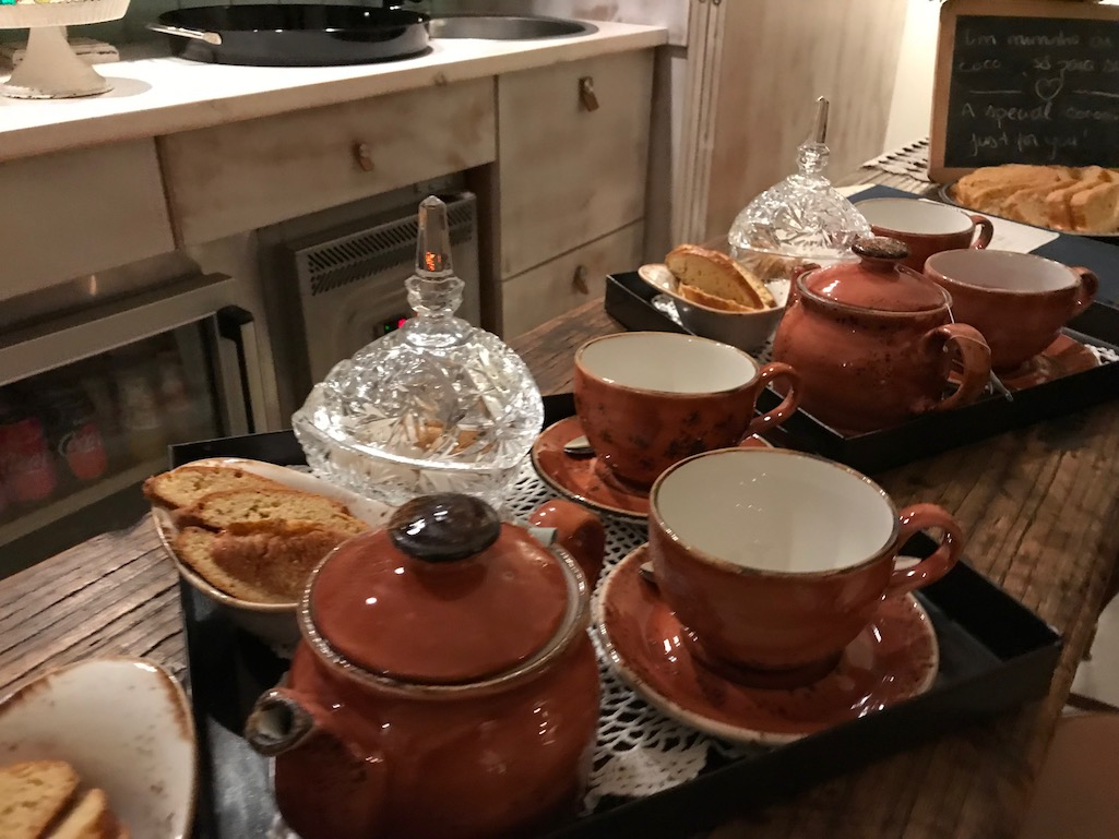 Welcome Tea At Luz House Portugal