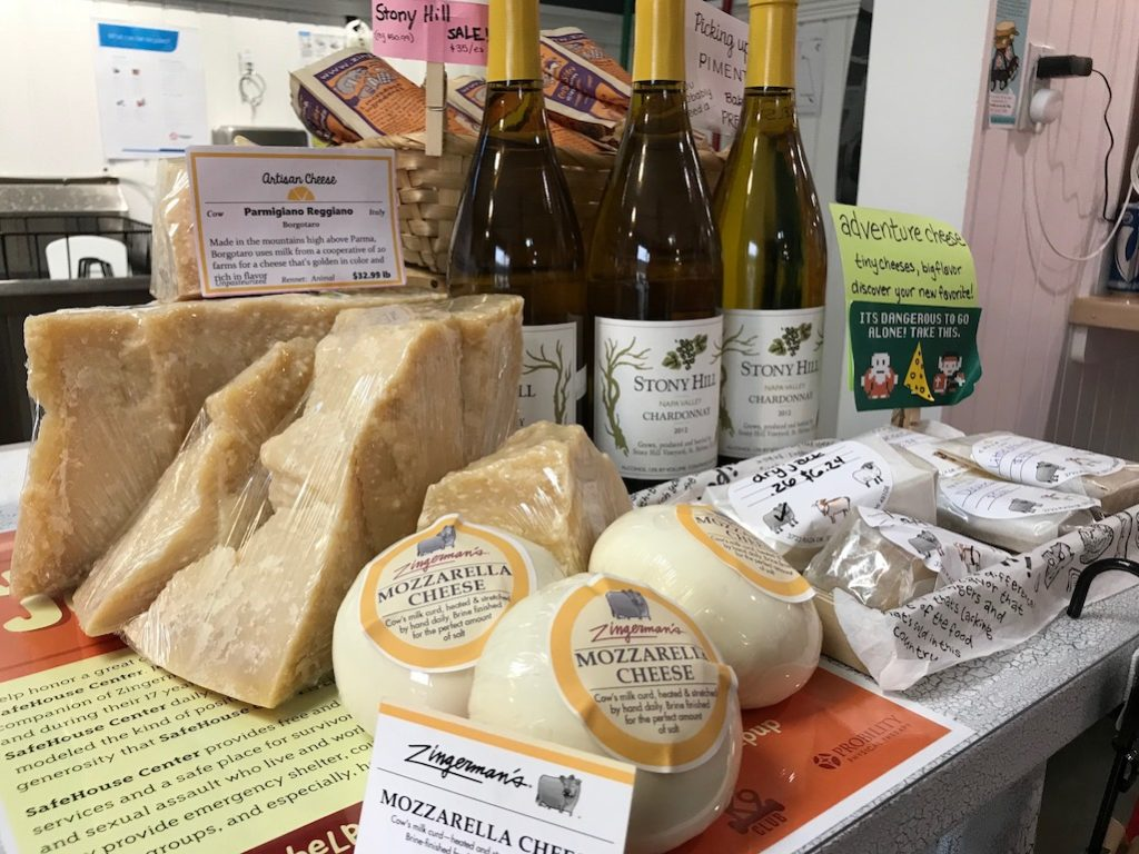 ZIngerman's Cheeses at the Creamery