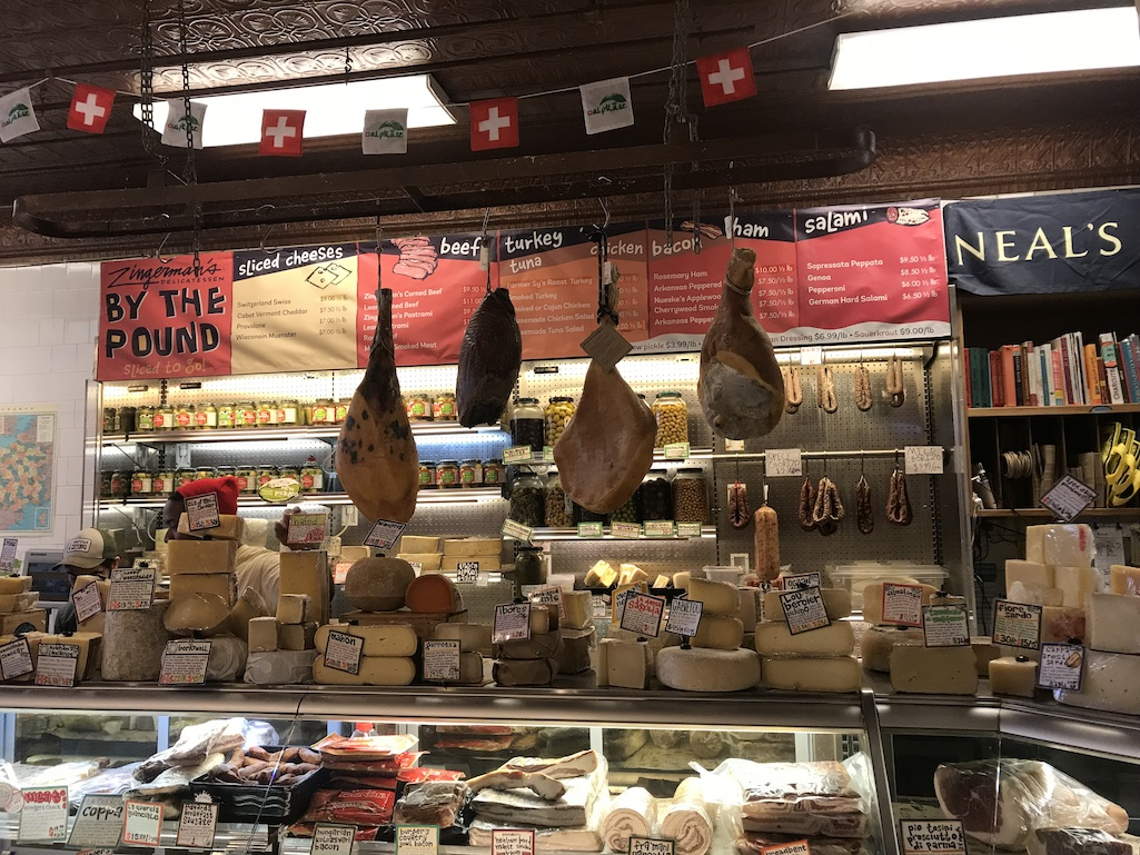 Zingermans Deli Meats and Cheese