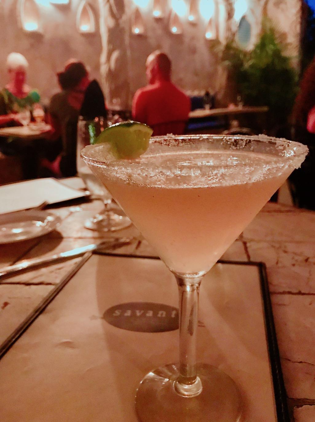 Cocktails at Savant St. Croix