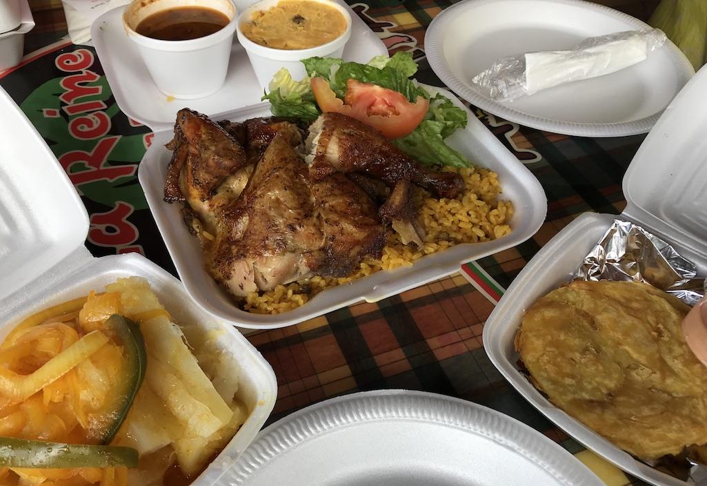 La Reine Chicken Shack St. Croix Plates