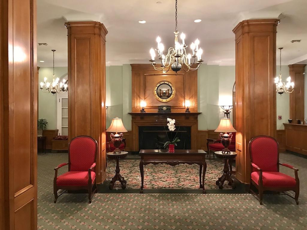 Lobby of the Hotel Northampton