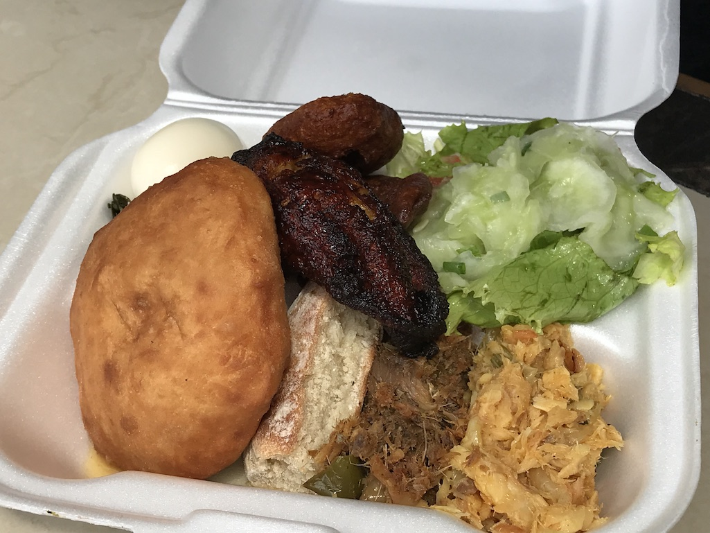 Local Island Breakfast on St. Croix