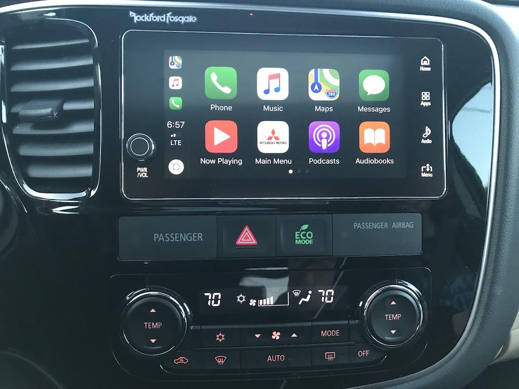 Outlander Dashboard Audio Control