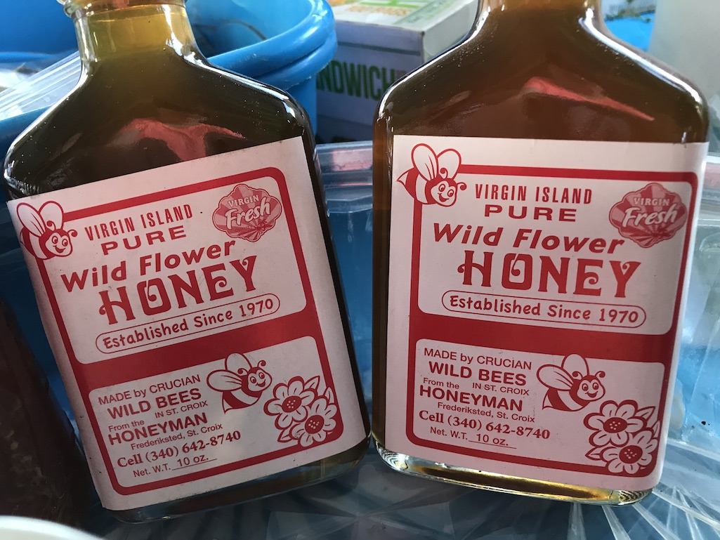 St. Croix Locally made Honey